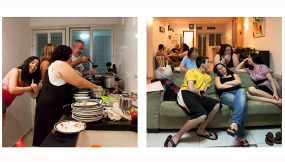 """שיח גלריה אודות תערוכת הצילום: """"ארוחת שישי"""""""